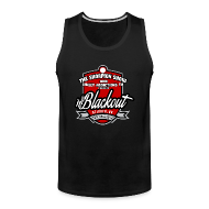 Sportswear ~ Men's Premium Tank ~ Blackout