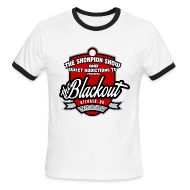 T-Shirts ~ Men's Ringer T-Shirt ~ Blackout