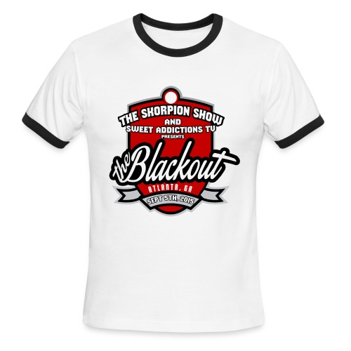 Blackout - Men's Ringer T-Shirt