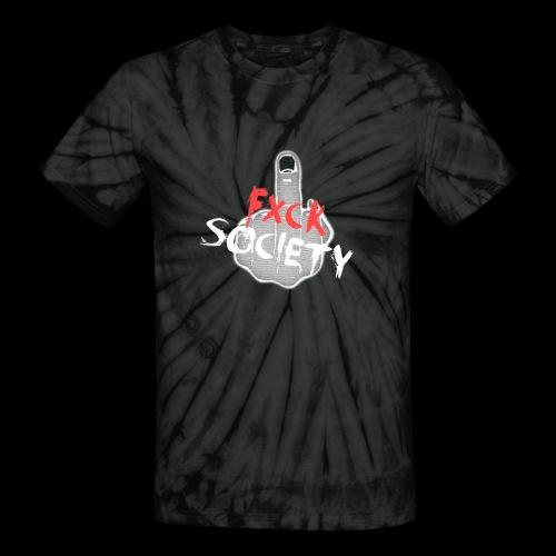 Fxck Society Tie-dye Tee - Unisex Tie Dye T-Shirt