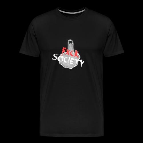 Fxck Society Premium Tee - Men's Premium T-Shirt