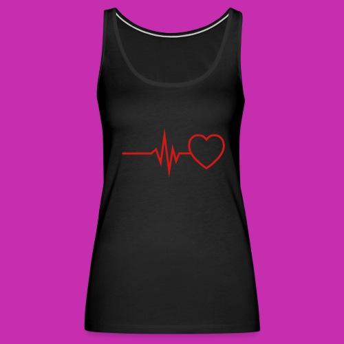 costokyo love music - Women's Premium Tank Top