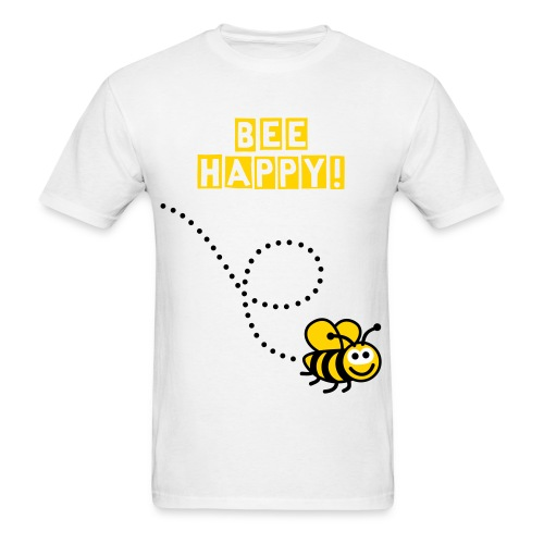 Bee Happy T-Shirt - Men's T-Shirt