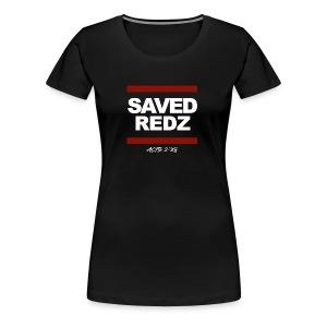 SAVED REDZ - Women's Premium T-Shirt