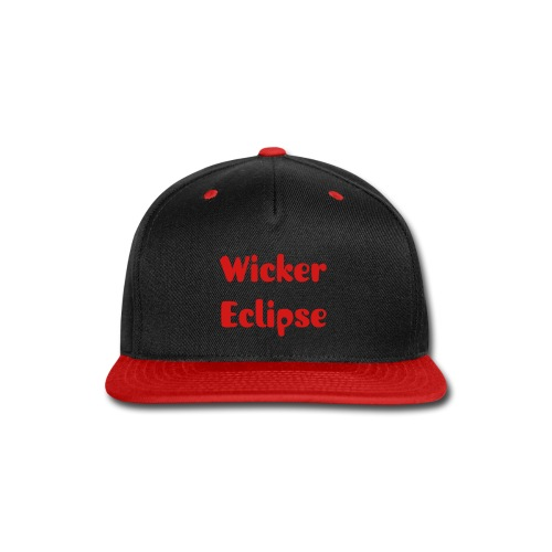Wicker Eclipse snapback hat - Snap-back Baseball Cap