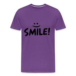 Smile Shirt  - Men's Premium T-Shirt
