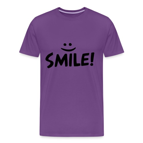 Smile Shirt  - Men's Premium T-Shirt