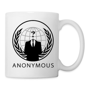 Anonymous 1 - Black - Coffee/Tea Mug