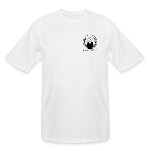 Anonymous 1 - Black - Men's Tall T-Shirt