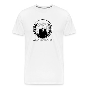 Anonymous 1 - Black - Men's Premium T-Shirt