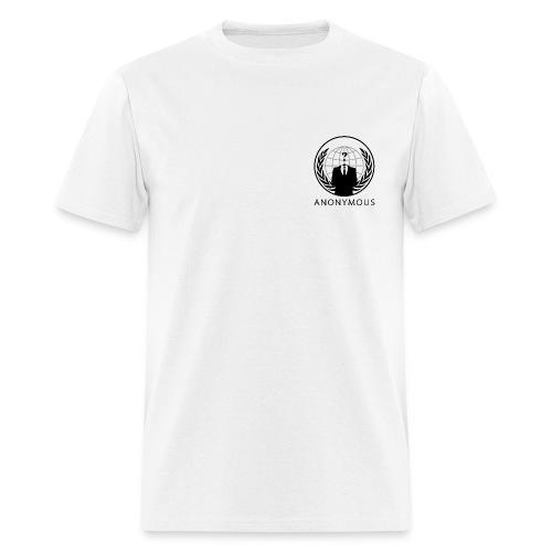 Anonymous 1 - Black - Men's T-Shirt