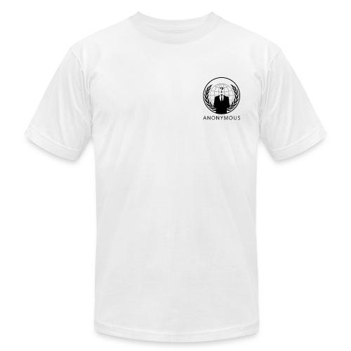 Anonymous 1 - Black - Men's Fine Jersey T-Shirt
