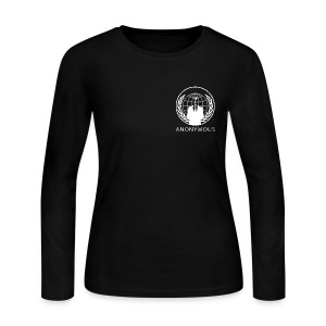 Anonymous 1 - White - Women's Long Sleeve Jersey T-Shirt