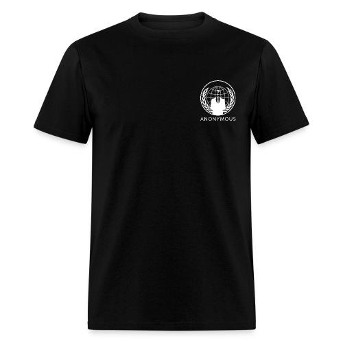 Anonymous 1 - White - Men's T-Shirt