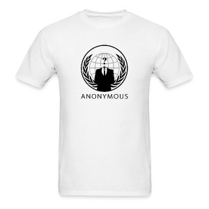 Anonymous 1 - Black - Men's T-Shirt