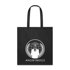 Anonymous 1 - White - Tote Bag