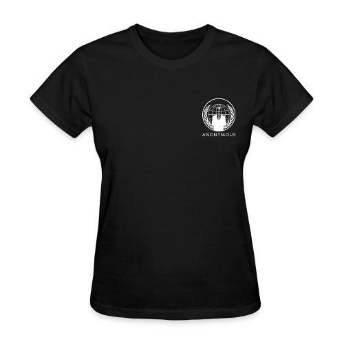 Anonymous 1 - White - Women's T-Shirt
