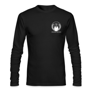 Anonymous 1 - White - Men's Long Sleeve T-Shirt by Next Level