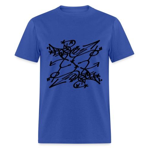 Crazy Art Design - Men's T-Shirt