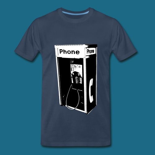 Men's Pay Phone T-Shirt - Men's Premium T-Shirt