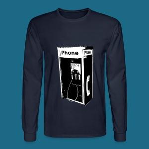 Men's Long Slee`ve Pay Phone T-Shirt - Men's Long Sleeve T-Shirt