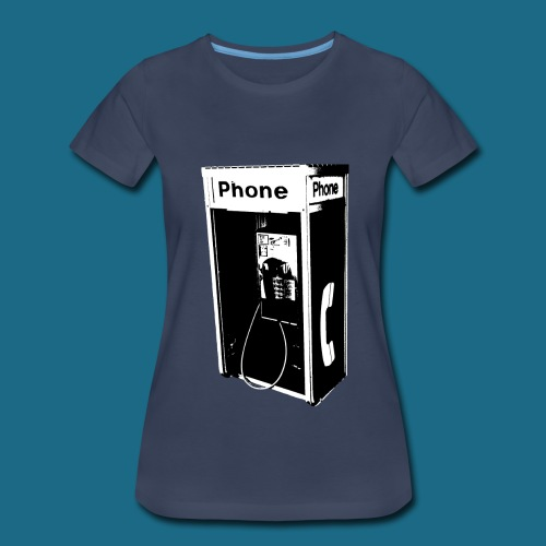 Women's Pay Phone Shirt - Women's Premium T-Shirt