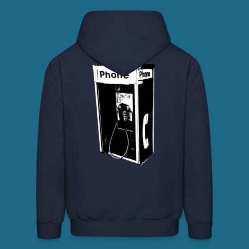 Pullover Pay Phone Hoodie - Men's Hoodie
