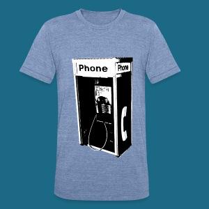 Unisex Tri-Blend Pay Phone T-Shirt - Unisex Tri-Blend T-Shirt
