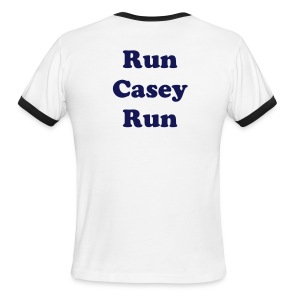 Run Casey Run Casey for Congress 2016 Men's Ringer T-shirt - Men's Ringer T-Shirt