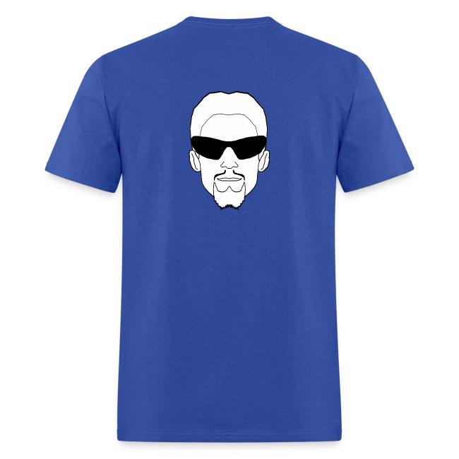 Gildan Mens T-Shirt Logo Front & Back