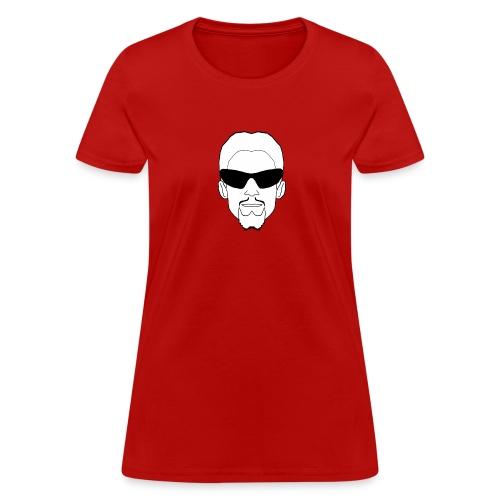 Gildan Woman's T-Shirt Logo Front & Back - Women's T-Shirt