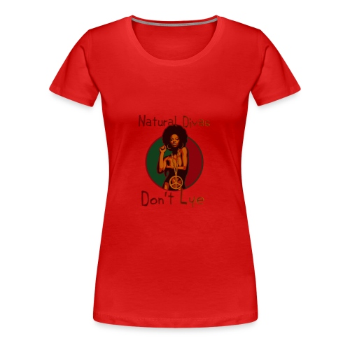 Afro Peace - Women's Premium T-Shirt