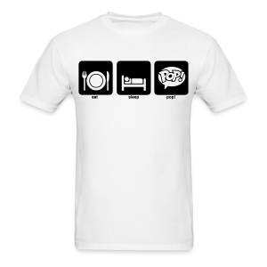 Eat. Sleep. Pop! - Men's T-Shirt