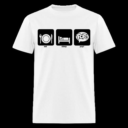 Eat. Sleep. Pop! - Men's T-Shirt