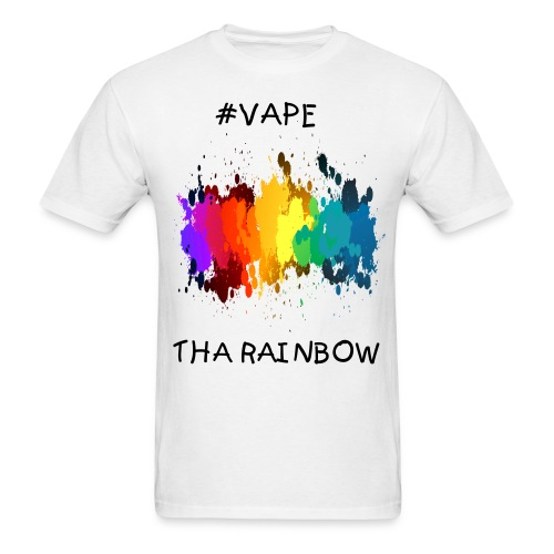 #Vape Tha Rainbow - Men's T-Shirt