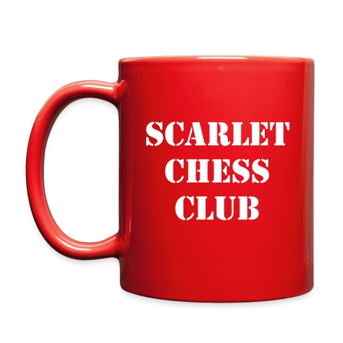 SCC RED & WHITE MUG - Full Color Mug