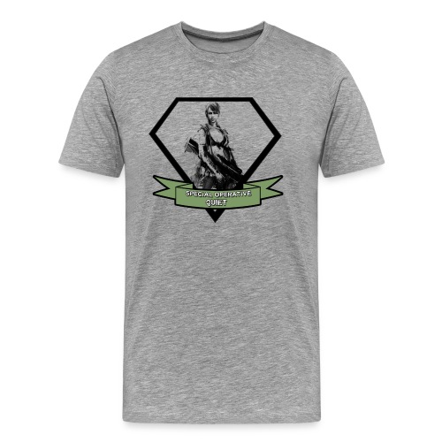 Quiet - Men's Premium T-Shirt