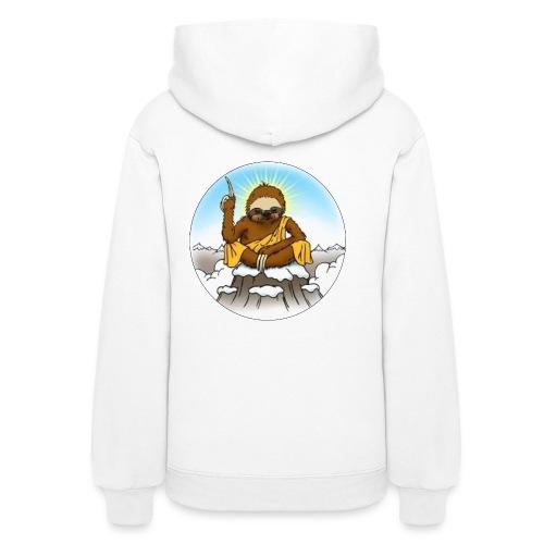 Women's Wise Sloth Hoodie - Women's Hoodie