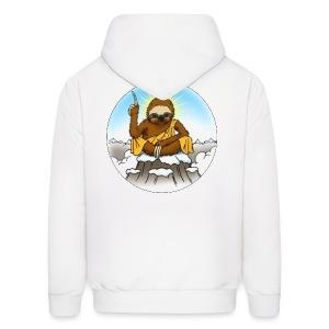 Men's Wise Sloth Hoodie - Men's Hoodie