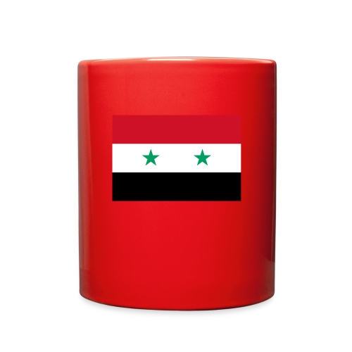 Mug with Syrian Flag - Full Color Mug