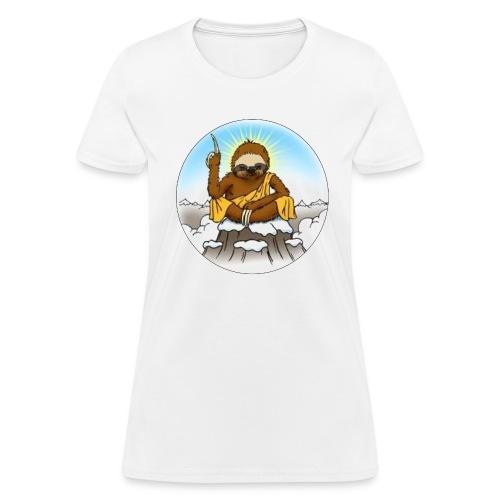 Women's Wise Sloth T-shirt - Women's T-Shirt