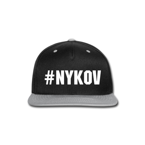 Snap-back Baseball Cap (#NYKOV) - Snap-back Baseball Cap