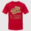Funny Baker Slogan T-Shirts - Men's T-Shirt by American Apparel