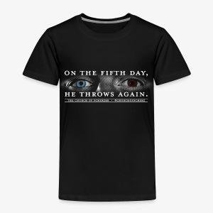 Toddler Church of Scherzer T-Shirt - Toddler Premium T-Shirt