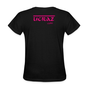 UCRAZ Womans basic back logo - Women's T-Shirt