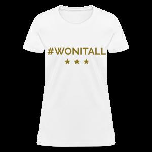 Hope #WonItAll - Women's T-Shirt