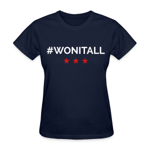Hope #WonItAll - Women's T-Shirt