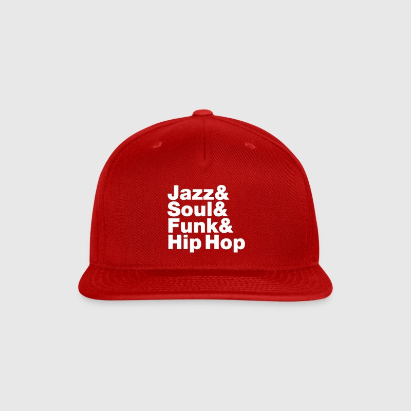 Jazz & Soul & Funk & Hip Hop Caps - Snap-back Baseball Cap