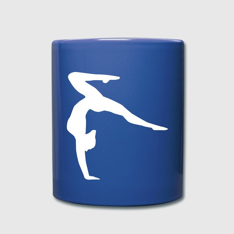 gymnast, gymnastics handstand Mugs & Drinkware - Full Color Mug