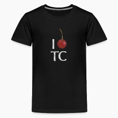 Classic I Cherry Traverse City Michigan Kids' Shirts